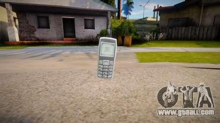 Phone from GTA IV for GTA San Andreas