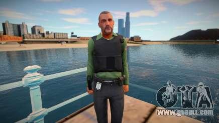 GTA V policeman for GTA San Andreas