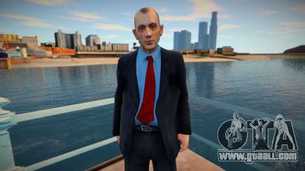 Bank employee for GTA San Andreas