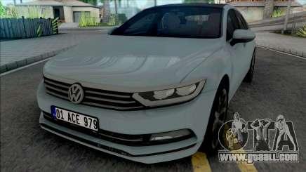 Volkswagen Passat B8 [HQ] for GTA San Andreas