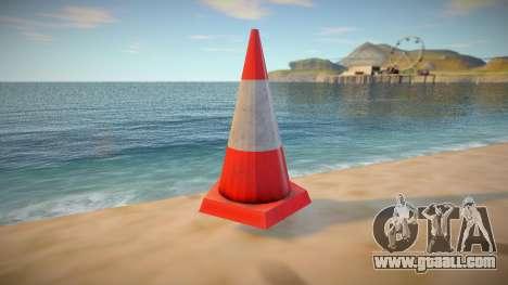 HQ Traffic Cone for GTA San Andreas