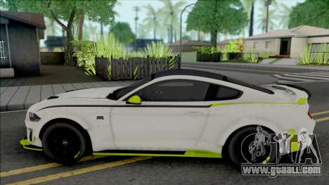 Ford Mustang RTR Spec 5 2021 for GTA San Andreas