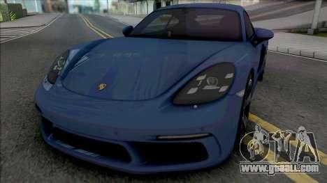 Porsche 718 Cayman S for GTA San Andreas