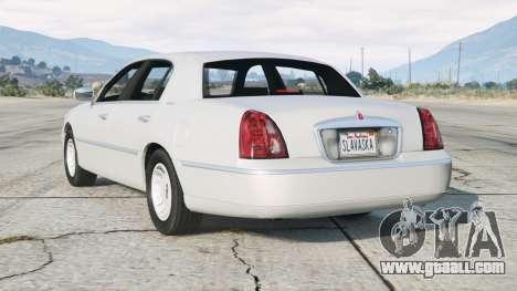 Lincoln Town Car Signature L 2000〡add-on v2.0
