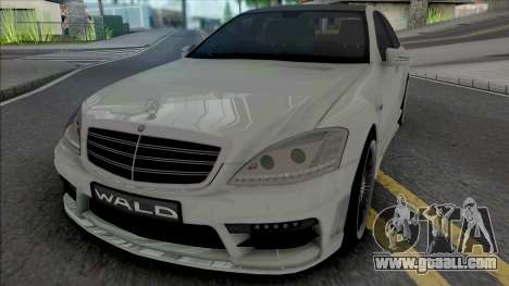 Mercedes-Benz S-Class W221 WALD Black Bison for GTA San Andreas