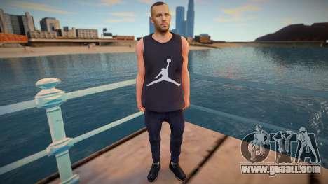 Jordan Skin for GTA San Andreas
