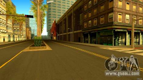 Real Roads and GTA IV Textures for GTA San Andreas