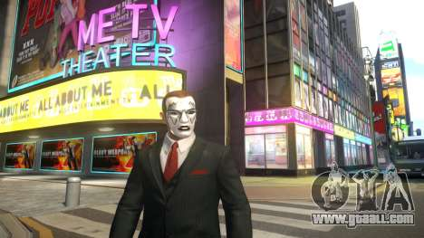 KISS Make Up Ace-W for GTA 4