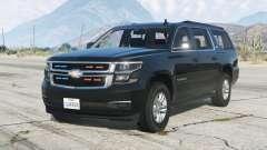 Chevrolet Suburban LTZ 2015〡Secret Service〡add-on v1.1 for GTA 5