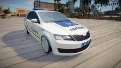 Skoda Rapid - Patrol Police of Ukraine for GTA San Andreas