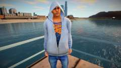 The guy in the gray hoodie for GTA San Andreas
