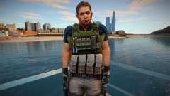 Chris Redfield from Resident Evil 6 Skin for GTA San Andreas