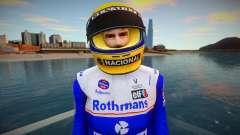 Ayrton Senna da Silva Skin Rothmans Team William for GTA San Andreas