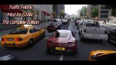 Traffic Felony Mod for GTAIV for GTA 4