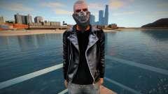 Biker Johnny (with bandana) for GTA San Andreas
