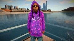 Lil Wayne v2 for GTA San Andreas