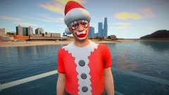 Christmas ped from GTA Online for GTA San Andreas