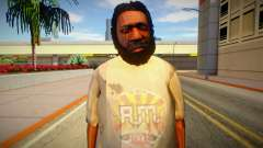 Homeless man from GTA 5 v7 for GTA San Andreas