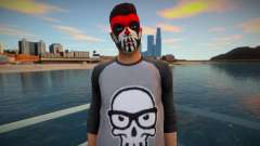 Character in makeup from GTA Online for GTA San Andreas