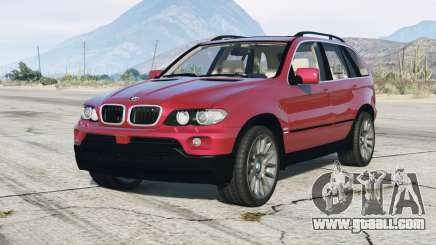 BMW X5 4.8is (E53) 2005 v1.1 for GTA 5