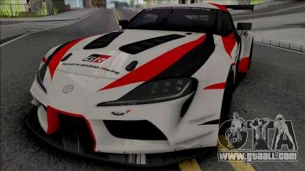 Toyota GR Supra A90 Racing for GTA San Andreas