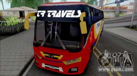 Hino AK1J non AC Bus [IVF] for GTA San Andreas