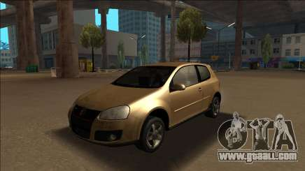 Volkswagen Golf GTI - The Golf is Better for GTA San Andreas