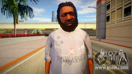 Homeless man from GTA 5 v10 for GTA San Andreas