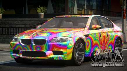 BMW M5 F10 US L9 for GTA 4