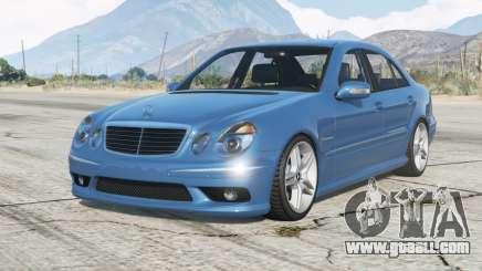 Mercedes-Benz E 55 AMG (W211) 2002〡add-on v2.0 for GTA 5