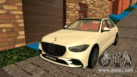 Mercedes-Benz S500 4matic (W223) 2022 for GTA San Andreas