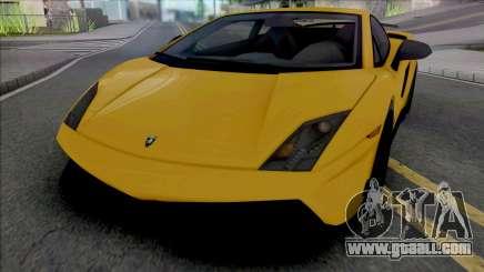 Lamborghini Gallardo LP570-4 Superleggera Edizio for GTA San Andreas