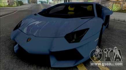 Lamborghini Aventador LP700-4 [HQ] for GTA San Andreas