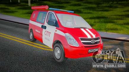 Hyundai H-1 Starex Fire Service Russia for GTA San Andreas