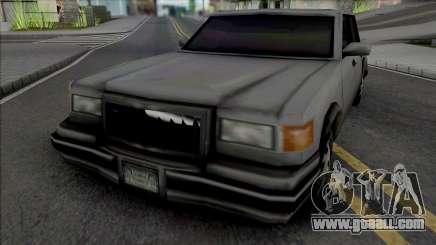 Unmarked Beta Sedan Vehicle for GTA San Andreas