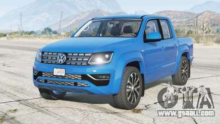 Volkswagen Amarok Double Cab 2018 for GTA 5