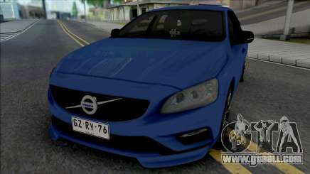 Volvo V60 T6 for GTA San Andreas