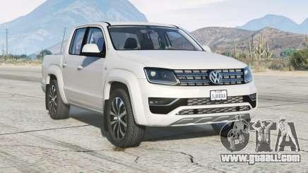 Volkswagen Amarok Double Cab 2018〡add-on v2.0 for GTA 5