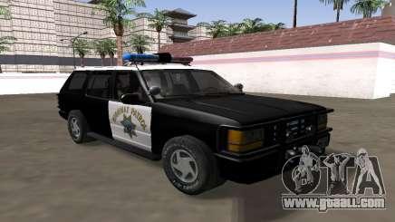 Ford Explorer 1994 California Highway Patrol for GTA San Andreas