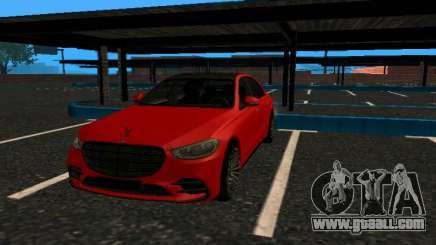 Mercedes-Benz S500 4matic (W223) 2022 V2 fixed for GTA San Andreas