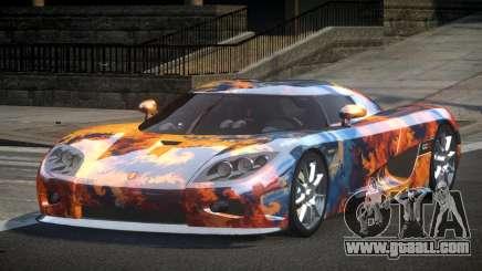 Koenigsegg CCX GST-R S8 for GTA 4