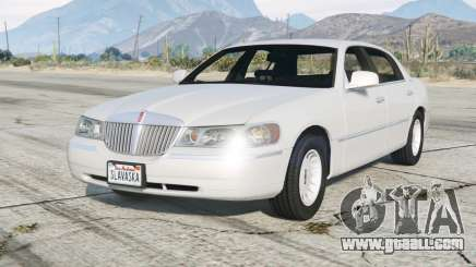 Lincoln Town Car Signature L 2000〡add-on v2.0 for GTA 5