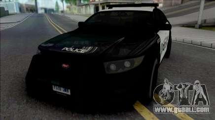 Vapid Torrence Police Las Vanturas for GTA San Andreas