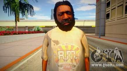 Homeless man from GTA 5 v7 for GTA San Andreas