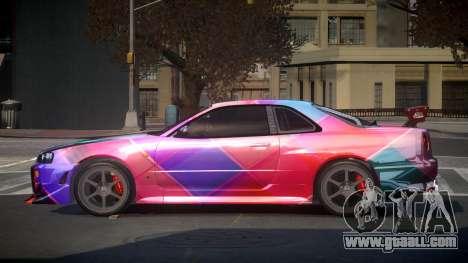 Nissan Skyline R34 PSI-S S4 for GTA 4