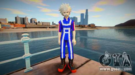 MHA Katsuki Bakugo (Gym Outfit) for GTA San Andreas