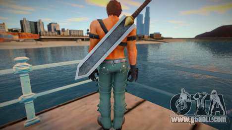 Shaheen skin for GTA San Andreas