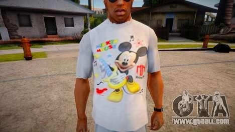 New T-Shirt - tshirtlocgrey for GTA San Andreas