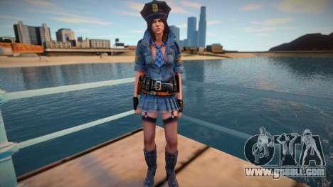Helena Harper Cop for GTA San Andreas