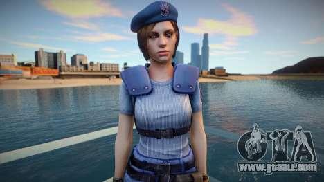 Jill Valentine (good skin) for GTA San Andreas